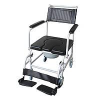 Крісло-каталка з санітарним оснащенням Рідні Care, фото 1