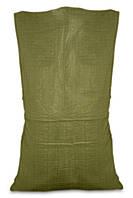Мешок полипропиленовый зеленый 55х105см, 50кг | 10-918
