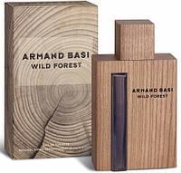 (ОАЭ) Armand Basi / Арманд Бази - Wild Forest (Деревянный флакон) 90 мл.  Мужские
