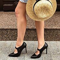Туфли женские кожаные на шпильке Favor