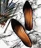 Туфли женские Marcella кожа и замша (чёрные, бежевые)