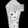 Демисезонный конверт плед 90х80 для выписки новорожденного осенний весенний одеялко осень весна 4320 Белый