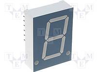 Индикатор светодиодный SA05-11GWA семисегментный /Kingbright/