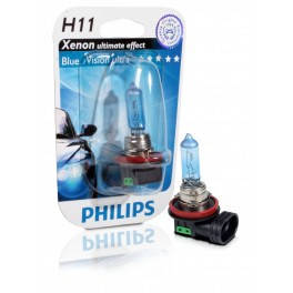 Philips Bluevision ultra 4000K H11, фото 2