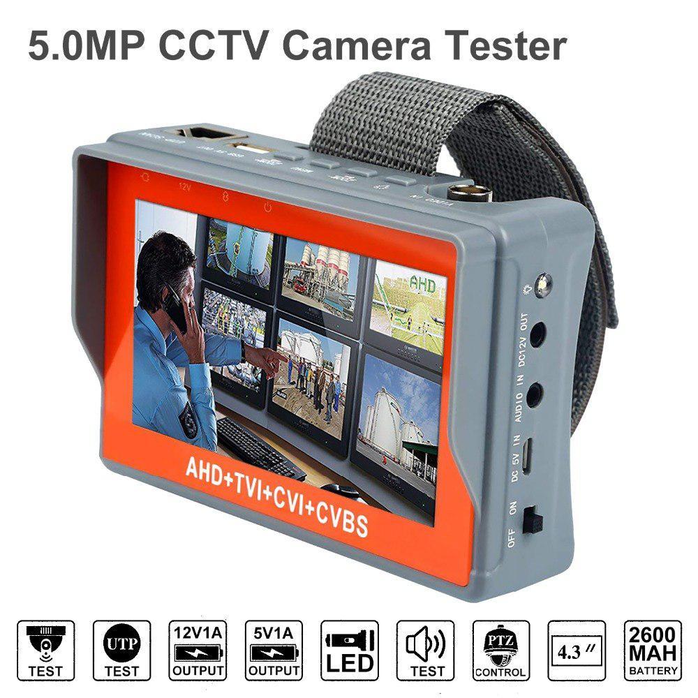 Тестовый монитор для настройки камер видеонаблюдения AHD, TVI, CVI и CVBS