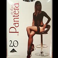 Панчохи жіночі Pantera з ажурною резинкою на силіконовій основі 20 den