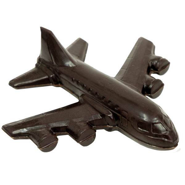Шоколадна фігурка Солодкий Світ 100г Літак чорн.