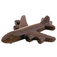 Шоколадна фігурка Солодкий Світ 100г Літак молочний