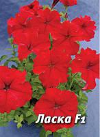 Семена петунии Ласка F1, 100 сем., крупноцветковая красная