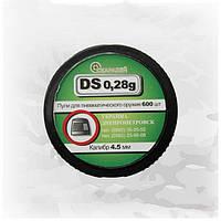 Легкие свинцовые пули Скарабей DS-0.28 g, 600 шт