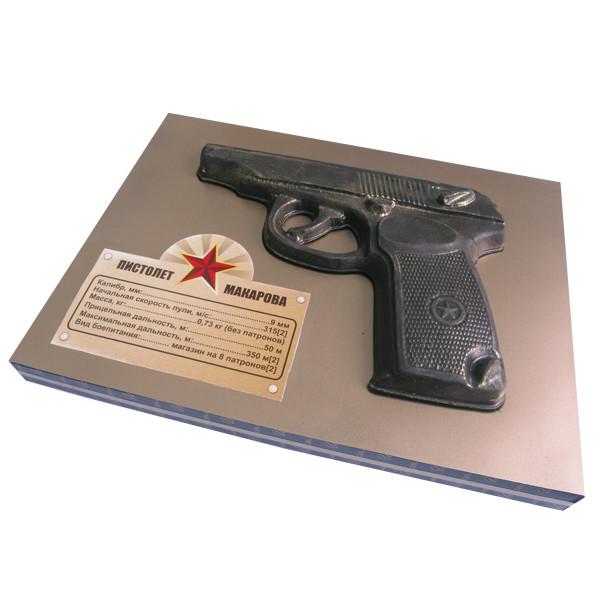 Шоколадна фігурка Солодкий Світ 120г Пістолет чорн.