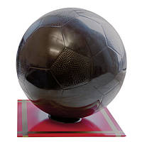 Шоколадна фігурка Солодкий Світ 650г Мяч футбольный чорн.