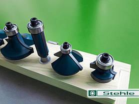 Набор концевых фрез Stehle по дереву для ручного фрезера, 10 шт., фото 2