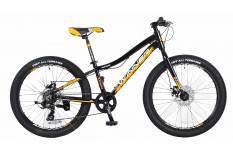 """Велосипед WINNER 24"""" JUNIOR рама 12,5"""" чёрно-жёлтый"""