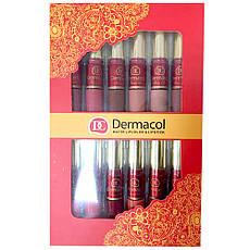 Набор жидких матовых помад – Dermacol Matte Lipcolor Lipstick 12 pcs  + ПОДАРОК: Настенный Фонарик с, фото 3