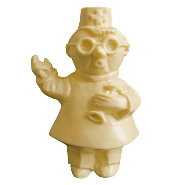 Шоколадна фігурка Солодкий Світ 220г Лікар Пілюлькін білий шок.