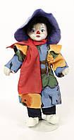Коллекционная старая кукла, клоун Германия, фарфор, фото 1