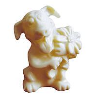 Шоколадна фігурка Солодкий Світ 70г З любов'ю білий шок.