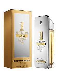 Туалетная вода мужская Paco Rabanne 1 Million Lucky, 100 мл