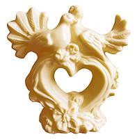 Шоколадна фігурка Солодкий Світ 160г Ніжність білий шок.