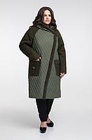 Стильная зимняя куртка женская недорого большого размера Фабрика моды р.  54-66 94791c138f9