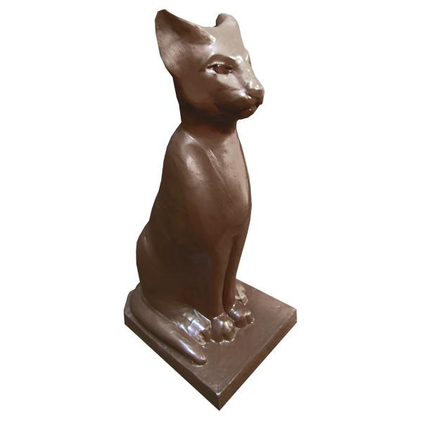 Шоколадна фігурка Солодкий Світ 90г Кішка єгипетська чорн.