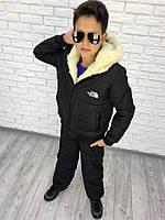 Детский теплый костюм №157-4025