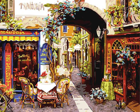 """Картина по номерам """"Флорентийский квартал"""", фото 2"""