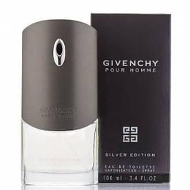 Туалетная вода мужская Givenchy Pour Homme Silver Edition, 100 мл