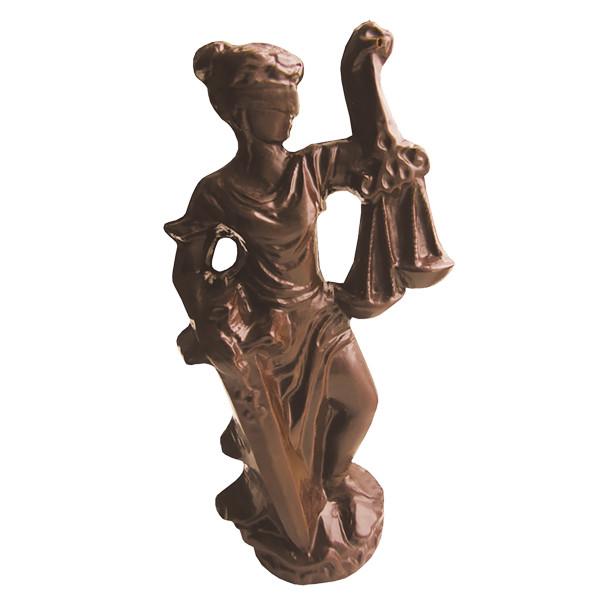 Шоколадна фігурка Солодкий Світ 150г Феміда преміум чорн.
