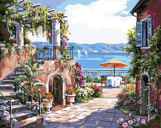 """Картина по номерам """"Тосканская терраса"""", фото 2"""