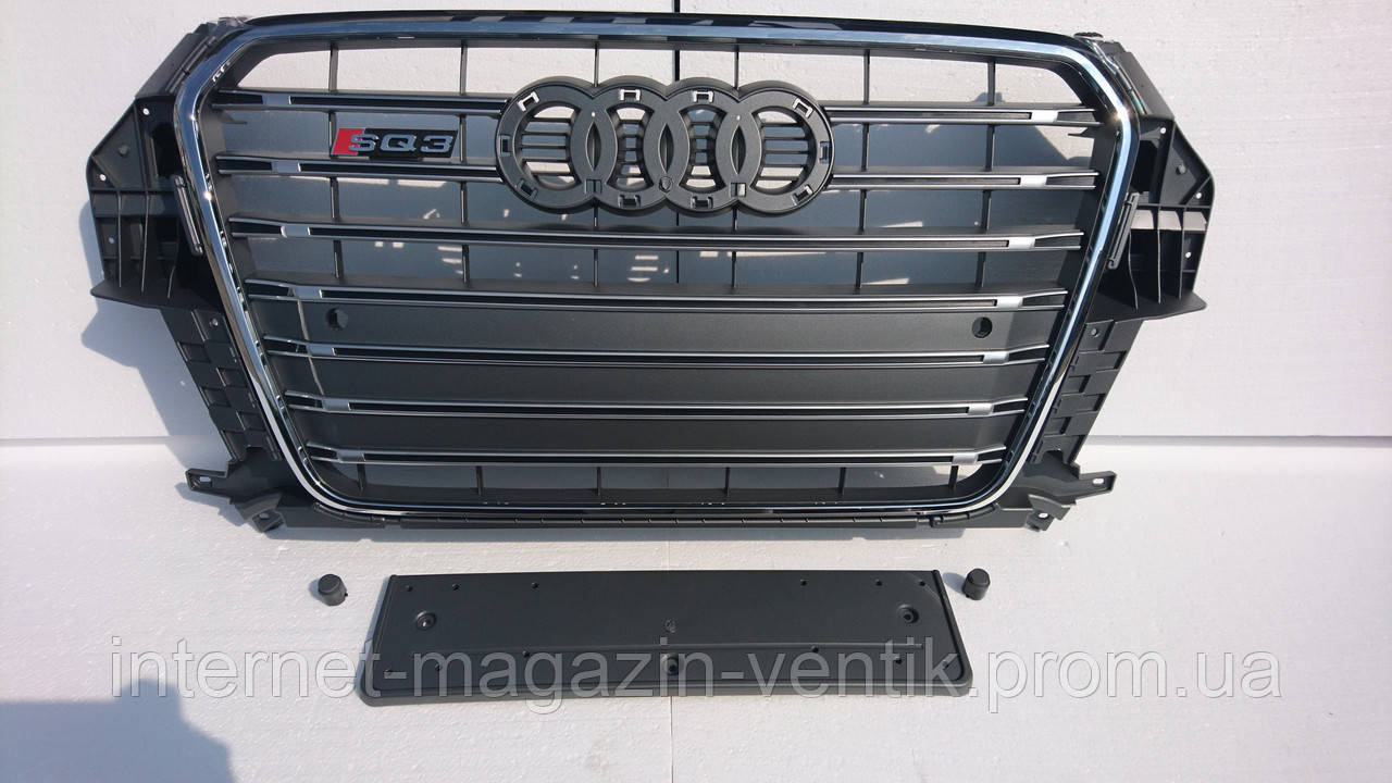 Решетка радиатора Audi Q3 SQ3 2012-2015