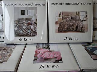 Постельное белье полисатин двуспальный евро ELWAY