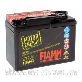 Мото аккмуляторы AGM FIAMM FTR4A-BS