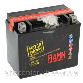Мото аккмуляторы AGM FIAMM FTX12-BS