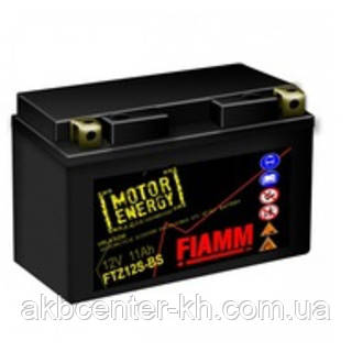 Мото аккмуляторы AGM FIAMM FTZ12S-BS