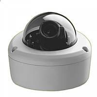 Камера купольная lux 35 sl, внутренняя / наружная, цветная видеосъемка, антивандальный корпус, ручной зум, 12в