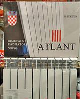 Биметаллический радиатор ATLANT 500x100