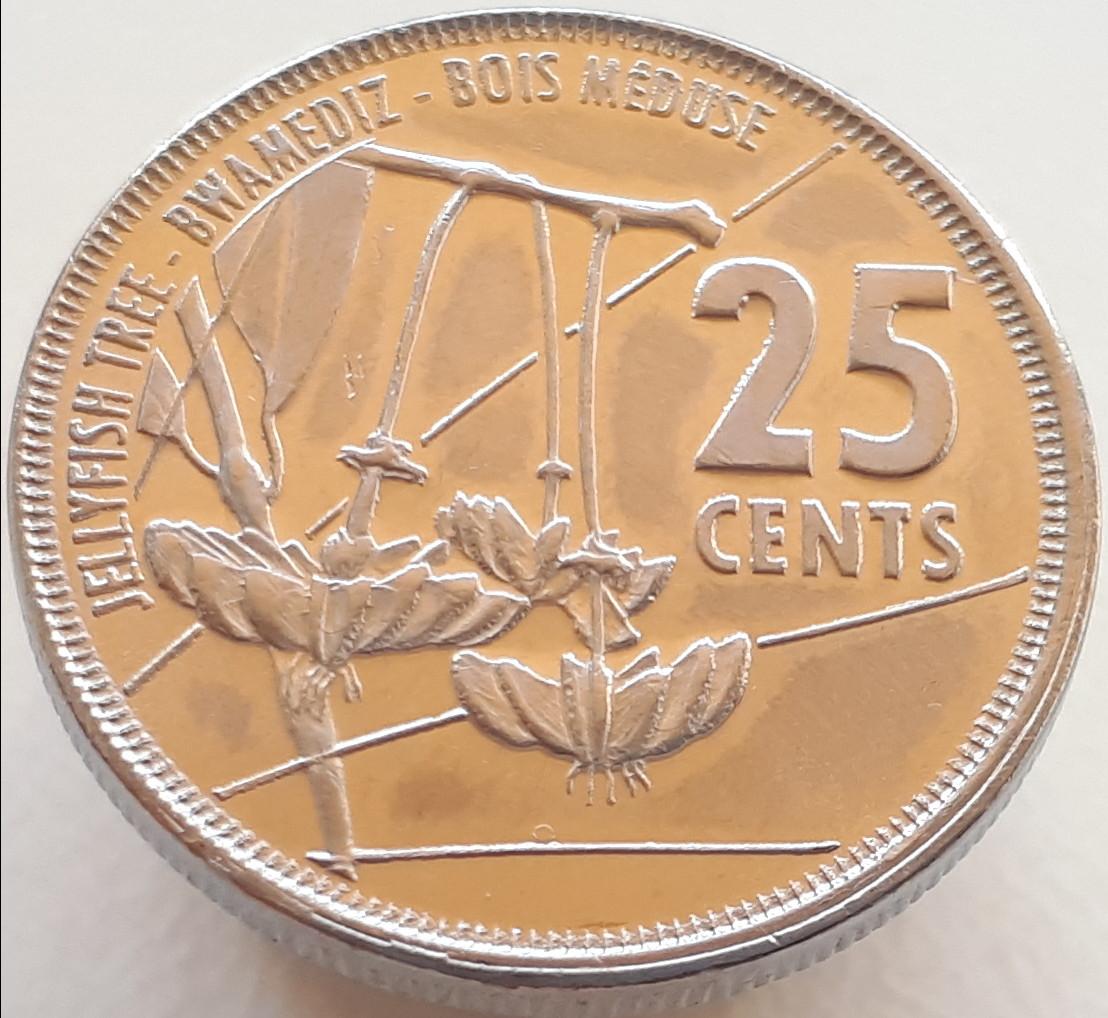 Сейшели 25 центів 2016