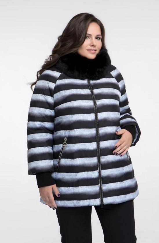Зимняя куртка недорого большого размера Фабрика моды р. 48-68 купить ... 2d78432915e