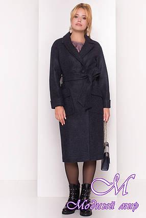 Женское удлиненное демисезонное пальто (р. S, M, L) арт. Парма 4425 - 21563, фото 2