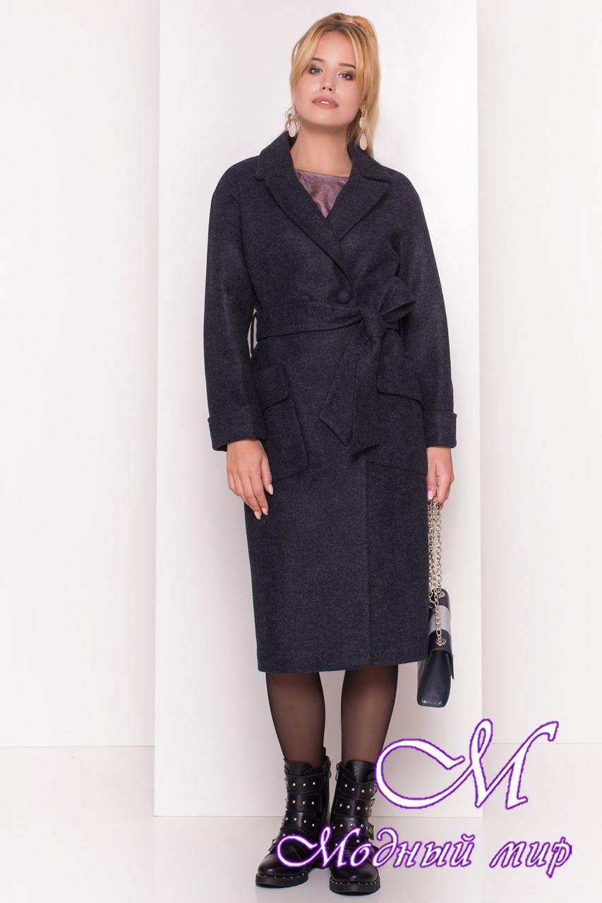 Женское удлиненное демисезонное пальто (р. S, M, L) арт. Парма 4425 - 21563