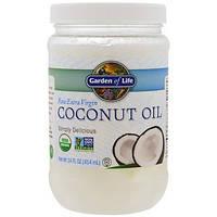 Цельное кокосовое масло первого отжима (414 мл) Garden of Life