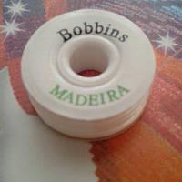 Madeira Нить 120м белая для вышивки бисером Нижняя нить для вышивания