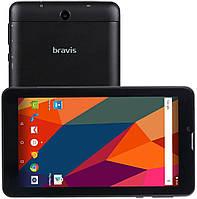 Оригинальный планшет BRAVIS NB753i   экран IPS 7 дюймов,4 ядра,8 Гб,2700 мА/ч.3G