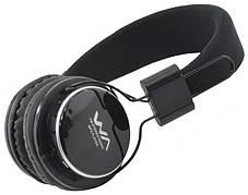 Навушники WA TM-001 Collapsible AUX + FM + MicroSD HC/TF Чорний