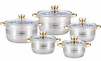 Набор посуды Maestro 2206-10-MR (10 пр)