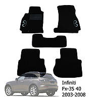 Коврики в салон Infiniti FX35 (45) 2003-2008 (5 шт.)