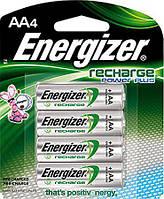 Аккумуляторы Energizer Recharge Power Plus 2300mAh AA 4штуки в комплекте , фото 1
