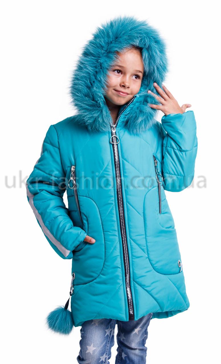 Зимняя куртка парка  для девочки подростка  от производителя 32-42